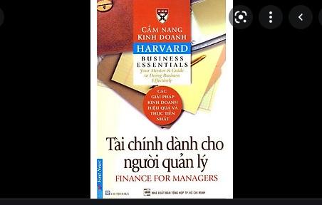 """""""Tài chính dành cho người quản lý"""" – Cẩm nang kinh doanh Harvard"""