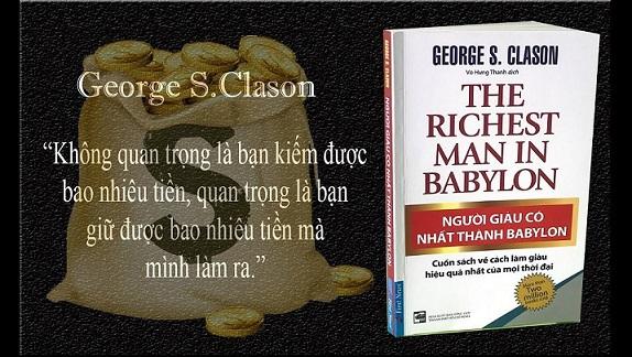 """""""Người giàu có nhất thành Babylon"""" của George Samuel Clason"""