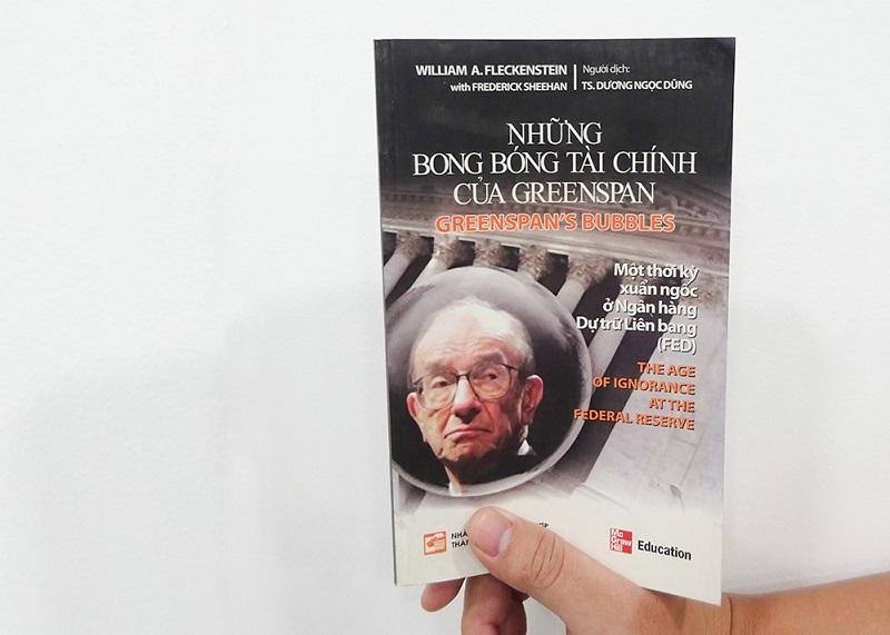 """Những bong bóng tài chính"""" của Greenspan"""